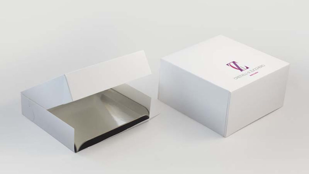 Portapaste Cadrè h. 5 + Vassoio nero-argento