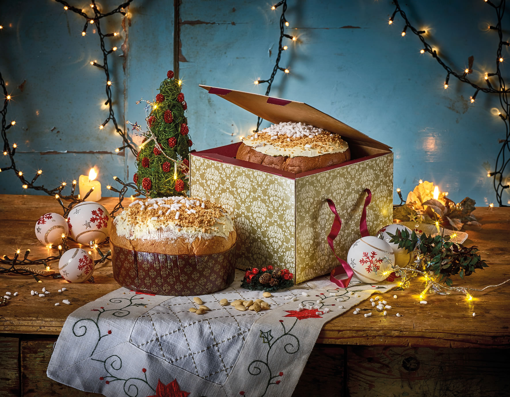 scatole di Natale personalizzate