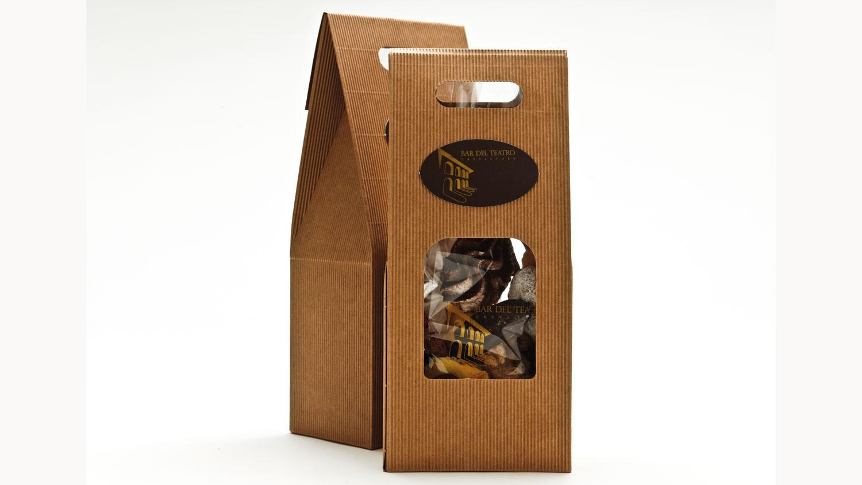 bombonette porta biscotti cestello