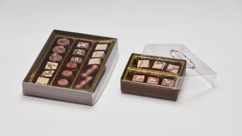 bombonette porta cioccolato fiocco