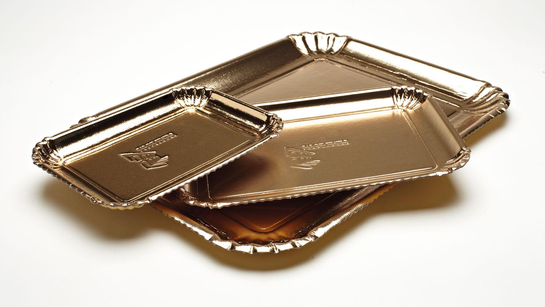bombonette vassoio classico oro