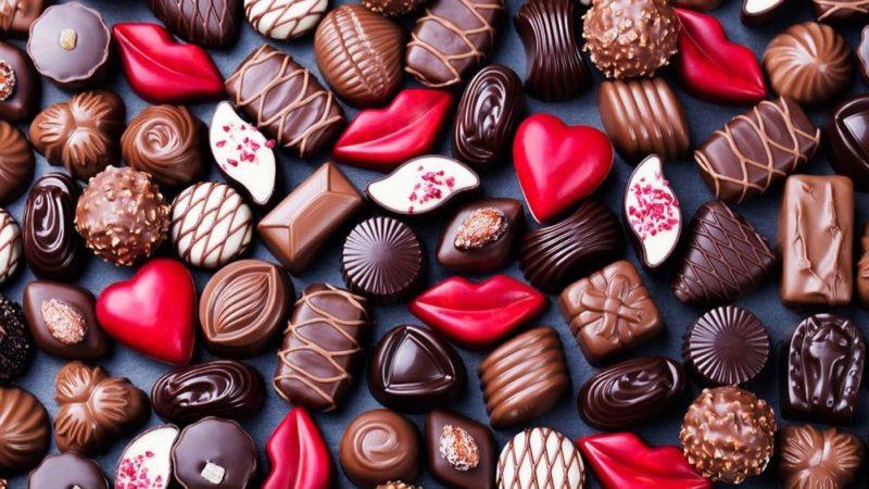scatole cioccolatini bombonette